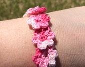 Floating Flower Bracelet