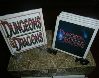 Dungeons & Dragons Coasters