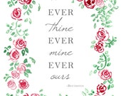 items similar to ever thine ever mine ever ours
