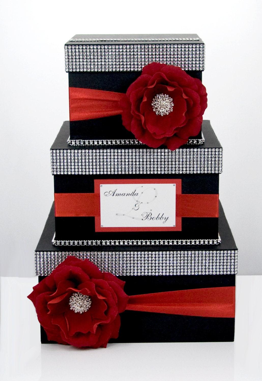Wedding Card Box / Card Holder / Wedding Money Box 3 Tier