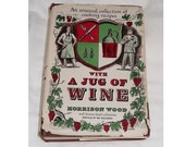 1949 CookBook, With A JUG Of WINE, Morrison Wood