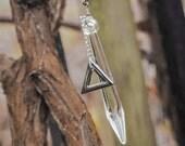 Chandelier Pendulum & Triangle Necklace