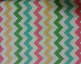 1 yard - Small Chevron (Girl) Fabric for Riley Blake
