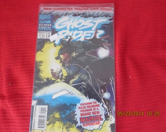 GHOST RIDER ANNUAL # 1 1993 Trading Card InsideBagged Never Opened Mint