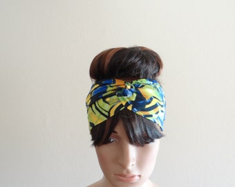 Headband. Printed Head Wrap