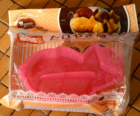 Japanese Microwave Cake Recipe: Fancy Japanese Microwave Fish Cake Mold By CollectingLife