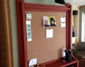 1404 Corkboard and Shelf