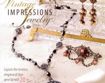 50%0ff Vintage Impressions Jewelry Pattern Book