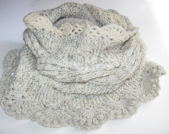 Items similar to Knitting PATTERN-Reversible Cabled ...