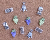 Wine Lovers Dream Push Pins or Magnets