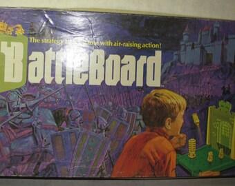 Vintage board game battleboard