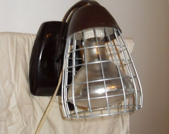 ON SALE!!! Vintage Mid Century Industrial Heat Lamp