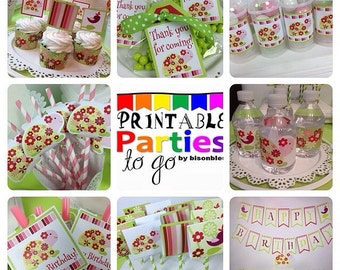 INSTANT DOWNLOAD Once Upon a Turtle Printable Party Set - IMPORTANT - Please Read Description Thoroughly Before Purchasing