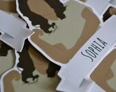 Sophia   OITNB   Orange is the new Black   Sticker Decal