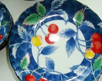 Japanese Cherry Shallow Bowls, [Dine]