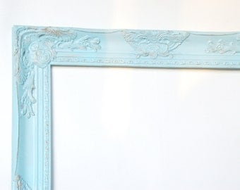 Ornate frame CUSTOM SIZE  decor baroque Hollywood regency photo prop