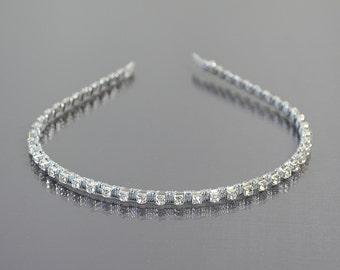 bridal hair accessories, Rhinestones  headband , crystal tiara, wedding hair accessories,bridal crown,bridal headpiece,wedding halo