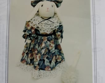 Rachael Rabbit Hide-A-Brush Sewing Pattern /Crafts Four Jay Crafts