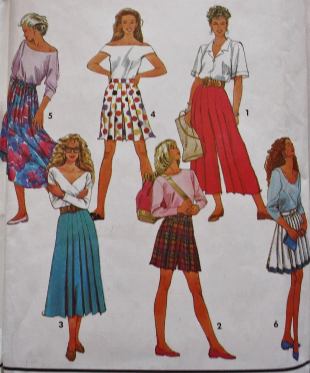 Split Skirt Patterns 23