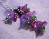 Lydia Martin Wolfsbane flower wire work necklace