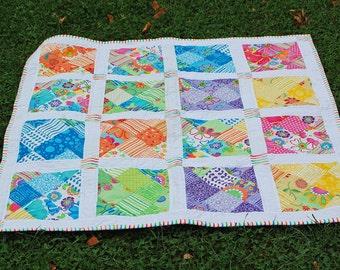 Beginner Color Blast Quilt Pattern