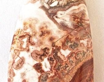 Crazy Lace Rosetta Stone Jasper Pendant