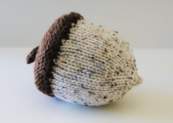 Knitting Inspirations Perth : Diy knitting pattern stuffed knit acorns for