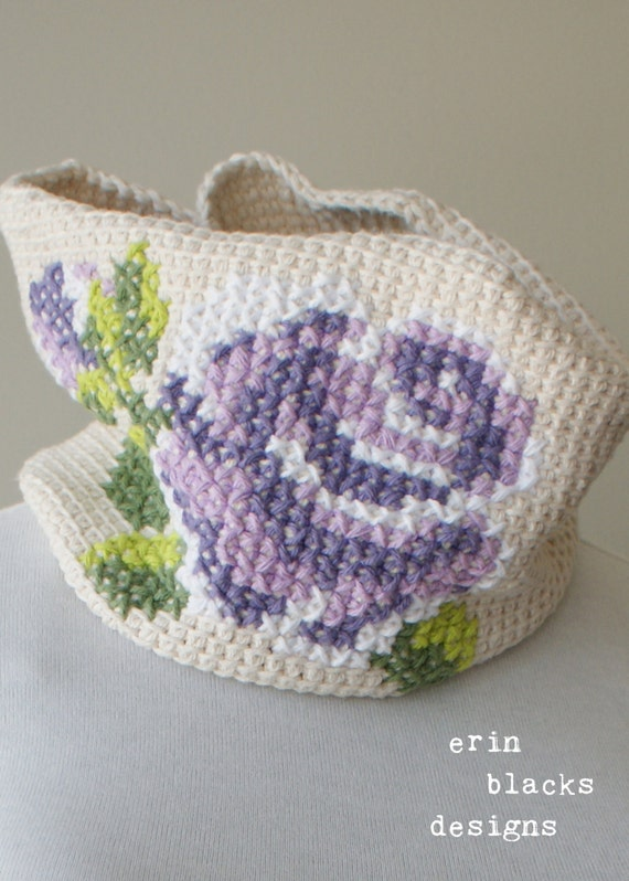 Tunisian Crochet Patterns Bags : Drawing & Illustration Fiber Arts Glass Art Mixed Media & Collage ...