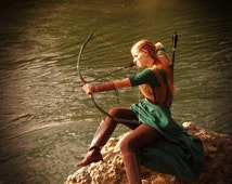 Tauriel Inspired Bow, The Hobbit - Horse Bow - Made to order