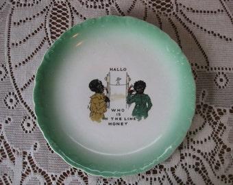 Vintage Black Americana plate