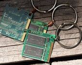 3 Computer Chip RAM Keychains - Set of 3 - Free U.S. Shipping!
