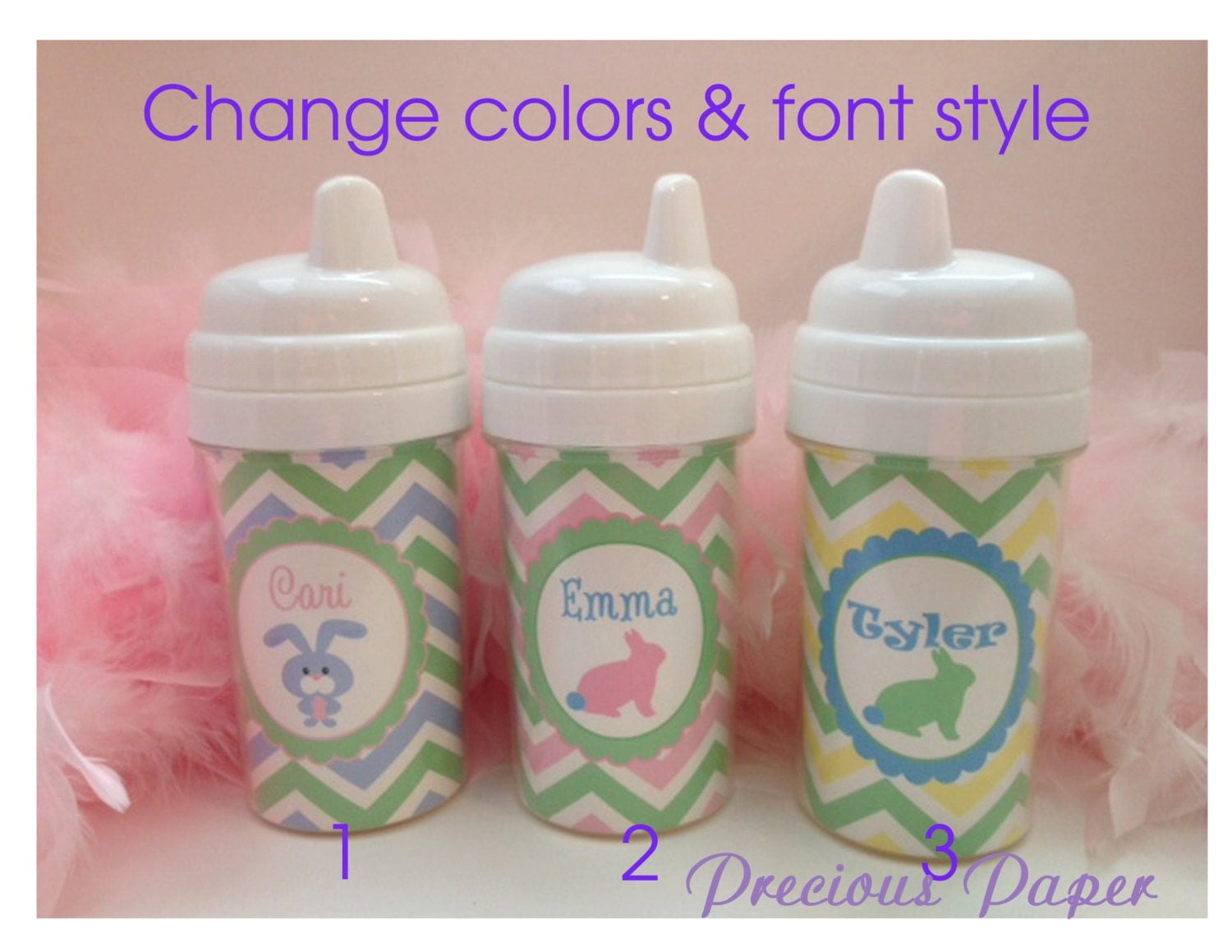 Kids Easter Gifts Personalized Easter Sippy Cups Easter