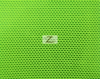 "Solid Power Mesh Nylon Spandex Fabric - NEON LIME - Sold By The Yard 58""/60"" Width"