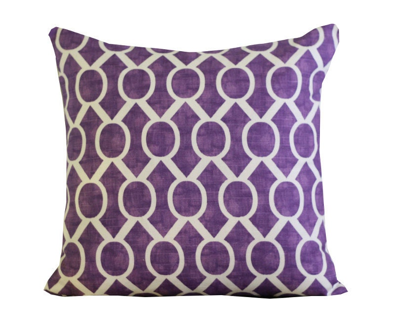 Pillows Purple Pillow Decorative Pillows Pillow by ThePillowCo