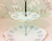 2 Tier 1950s Cake Stand