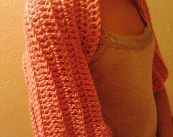 Elegant Crochet Shrug