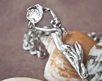"Spoon Necklace: ""Mermaid"" by Silver Spoon Jewelry"