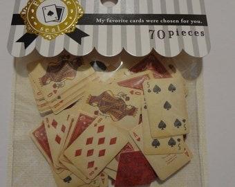 Japan Mind wave kawaii Playing Cards 70 pcs wtickers sack/75209