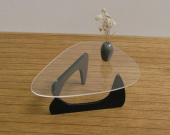 NOGUCHI (Tribeca) COFFEE TABLE 1:12 Scale, Replica, Collectible Contemporary Design Miniature Furniture, Dollhouse