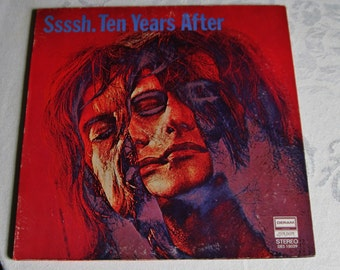 Vintage Ten Years After Sssh Vinyl Record  LP - Original 1969 Release Deram EX Condition