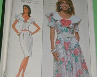 Simplicity 9012 Misses/Misses Petite Dress Sewing Pattern - UNCUT - Sizes 12