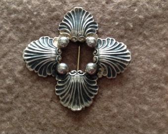 Vintage Ruopoli Gorham Sterling Silver Brooch Marked