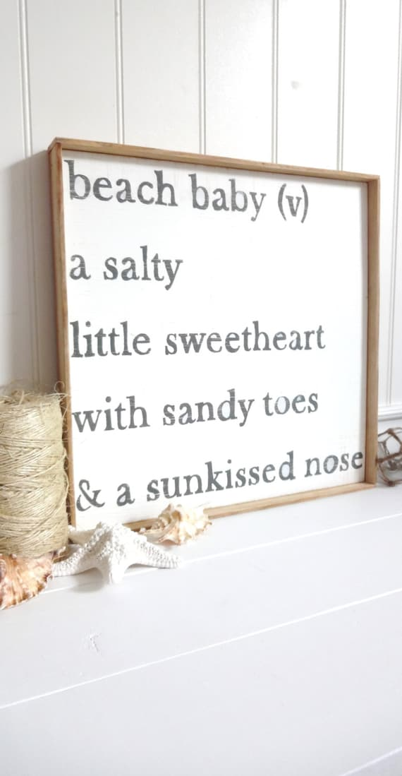 Meet Me In My Bedroom Baby: Meet Me Bye The Sea Beach Baby Poem By MeetMeByeTheSea On Etsy