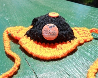 Crochet Sports Hat Etsy