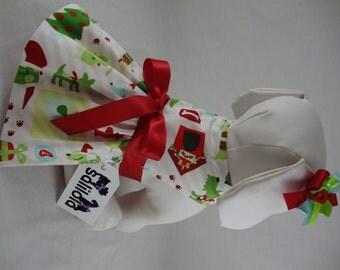 Merry Pupmas- Reversible Dog Dress