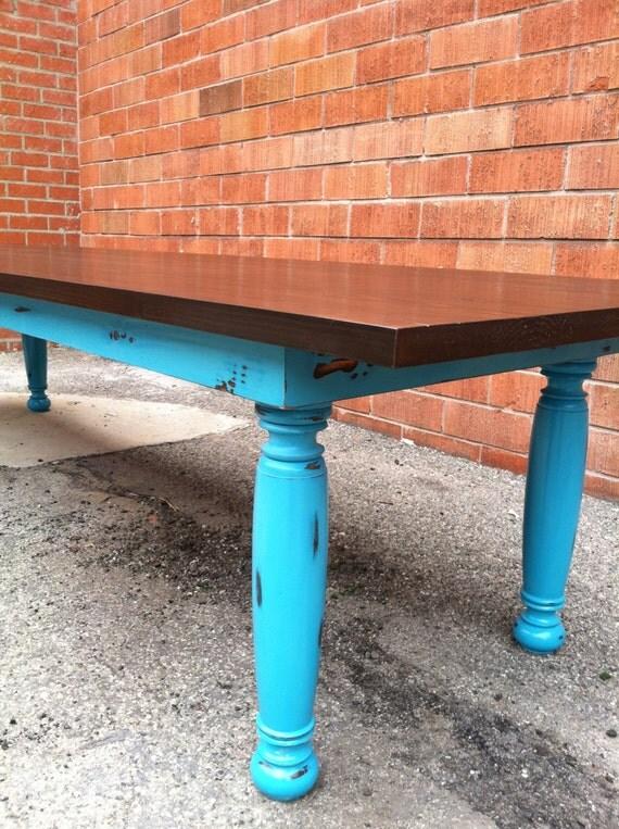 Custom 12ft Farmhouse Table Reclaimed Wood By Thepaintedldy
