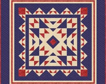 "Summer Sale -- Buy 2, Get 1 FREE -- DAYDREAM, PDF quilt pattern, throw (60"" x 60"")"