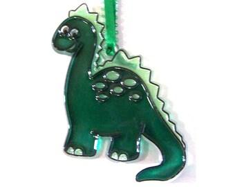 Ornament Dino The Dinosaur Acrylic Handpainted Home Decor