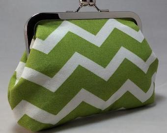Geometric...clasp purse