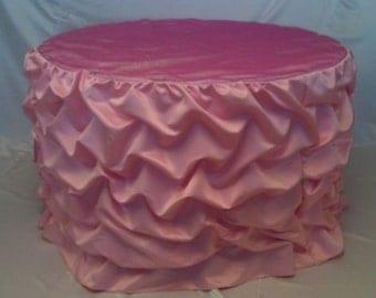 Bella Bustled Tablecloth